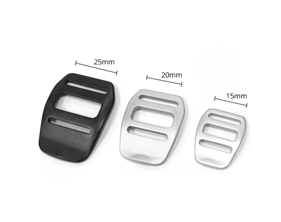 5-1/'/' 25mm Curved side release plastic Buckle-High TS